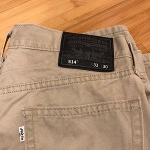 Levi's 514 Men's Khakis